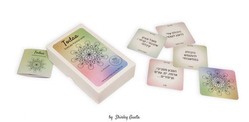 todaa gratititude practice cards